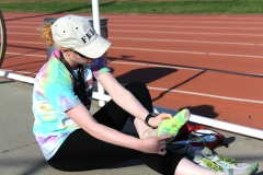 Crosby, an exercise physiology major, first became interested in track and field in high school after her older brother, Darian Crosby, suggested the idea because of her speed and because she can't play contact sports. She didn't think she'd ever be good enough to run at the collegiate level.