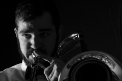 Smith originally moved to Viterbo after being granted a scholarship to play trombone Tuscia Opera Festival.